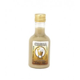 Botella Licor CREMA, 50 ML plástico