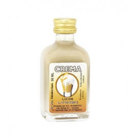 Botella Cristal Licor CREMA,50Ml