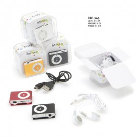 Reproductor Mp3 Radio+cascos + cable usb