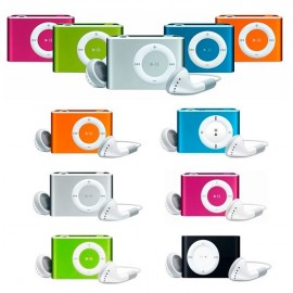 Reproductor Mp3  player clip Radio+cascos + cable usb