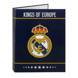 Real Madrid CF Carpeta Folio 4 anillas Mixta